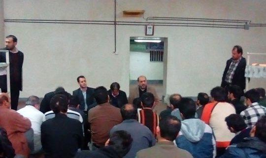 بازدید نمایندگان ستاددیه کشور از زندانهای اردبیل