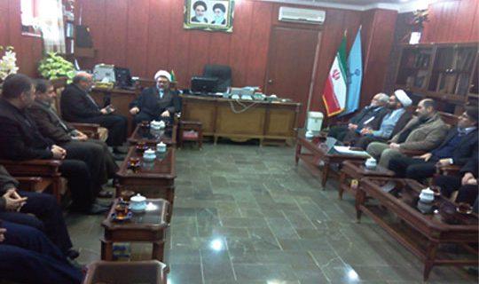 دیدار بازرسان ستاددیه کشور با رییس کل دادگستری اردبیل
