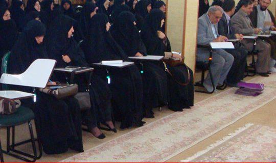 برگزاری همایش ستاددیه استان با هیأت مذهبی بانوان