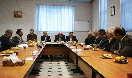 جلسه هیأت مدیره ستاددیه استان اردبیل با حضور مدیر عامل ستاددیه کشور برگزار گردید