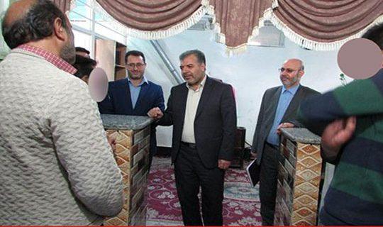 بازدید مدیرنمایندگی  ستاددیه ی استان اردبیل از زندانهای گرمی ، مشگین ، خلخال