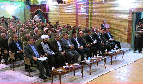 اهدایی ۸قطعه طلای بانوان خلخالی برای آزادسازی زندانیان جرایم غیر عمد درجشن گلریزان