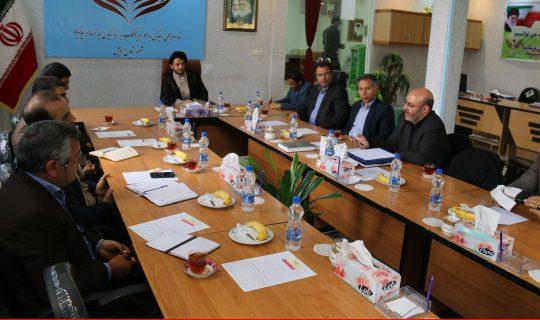 اولین جلسه ی کمیته ی یاوران ستاددیه ی نمایندگی استان اردبیل ویزه ی برداران  تشکیل شد