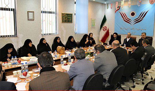 نشست کمیته یاوران  نمایندگی ستاددیه ی استان اردبیل برای برگزاری دومین همایش بانوان در استان اردبیل