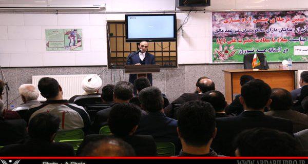 آیین کمک به زندانیان جرایم غیر عمد ومالی در استان اردبیل نهادینه شده است
