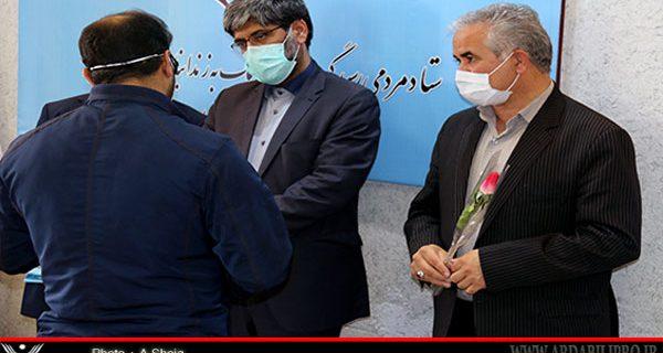 اولین مرحله ی جشن آزادسازی زندانیان جرایم غیر عمد ومالی استان اردبیل  برگزار شد