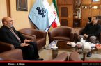 نشست مدیر نمایندگی ستاد دیه استان با مدیر کل صدا و سیمای مرکز اردبیل