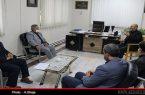اولین نشست همکاری بین ستاددیه ی استان و بنیادشهید و امورایثارگران اردبیل برگزارشد
